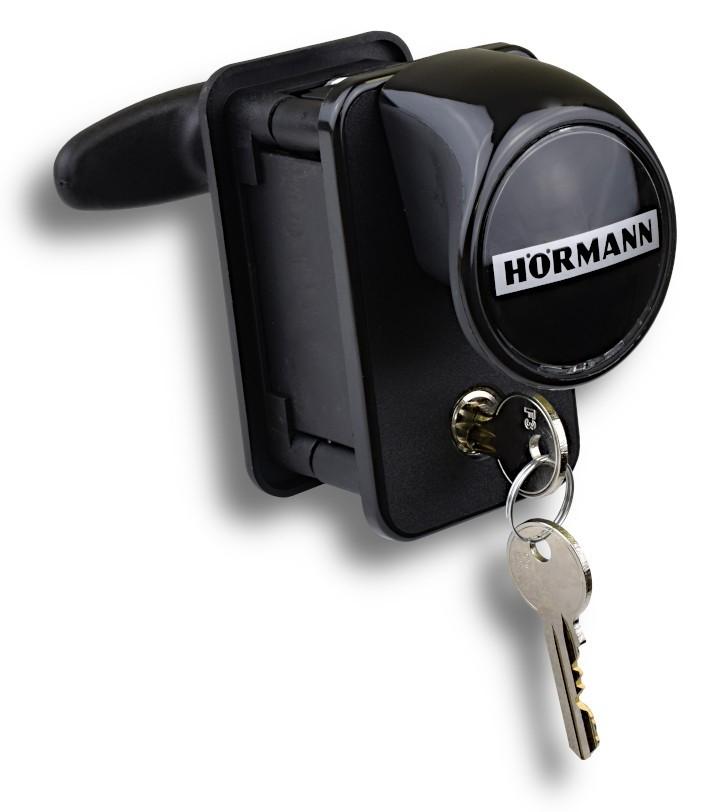 Hörmann Torgriffgarnitur TS 42,5 mm Kunststoff schwarz