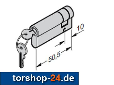 Hörmann Profilzylinder 40,5 + 10 mm