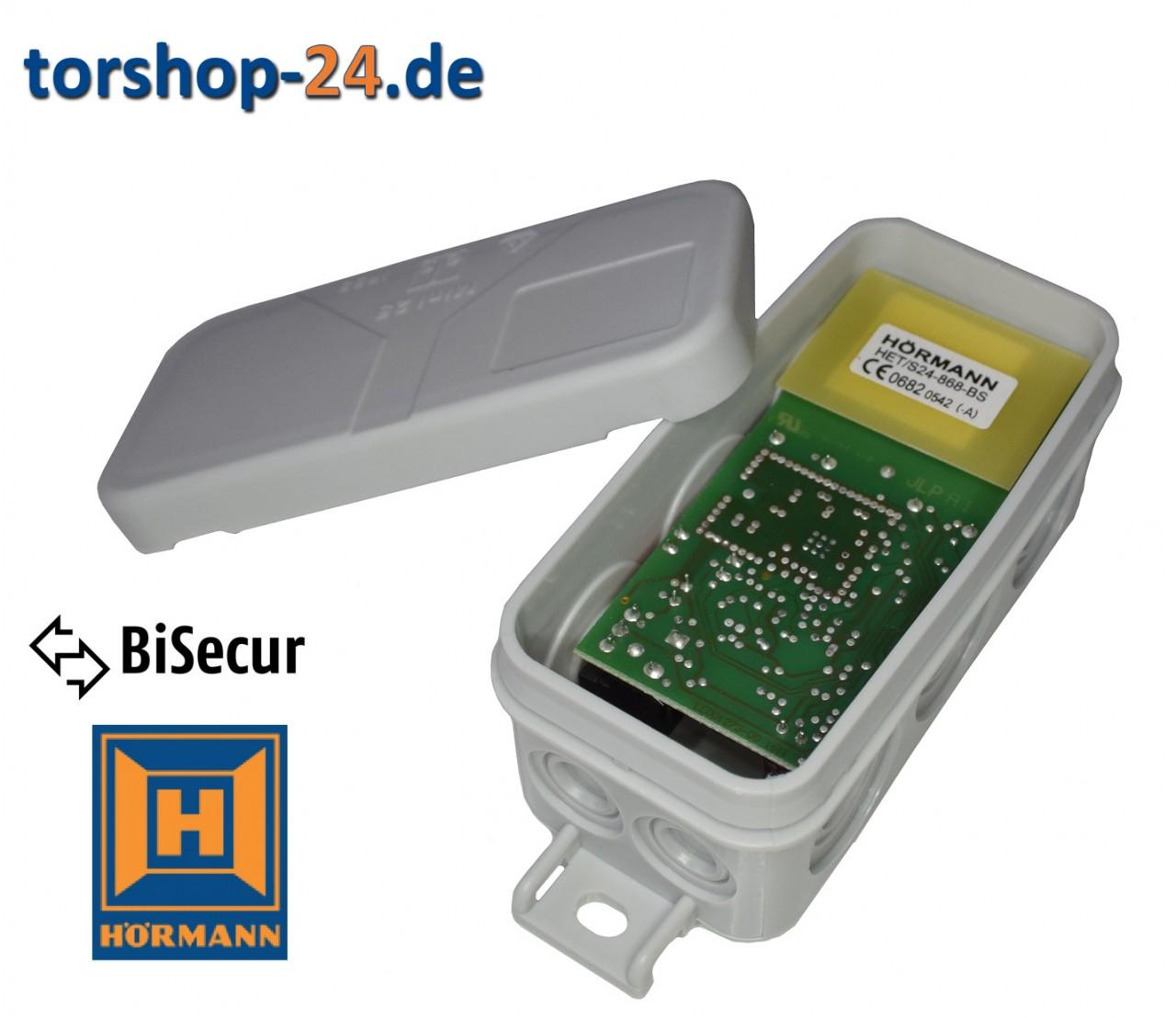 Hörmann 2-Kanal-Empfänger HET/S 24-868-BiSecur