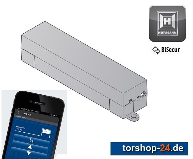 Hörmann BiSecur Gateway WLAN - LAN für Smartphone
