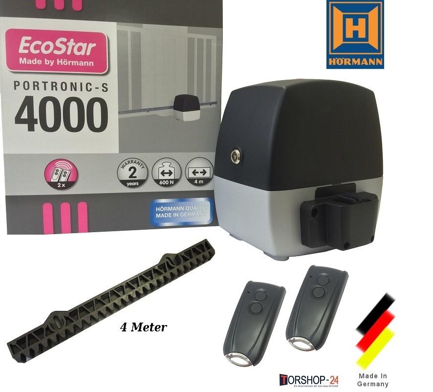 Ecostar Portronic S4000 Schiebetorantrieb