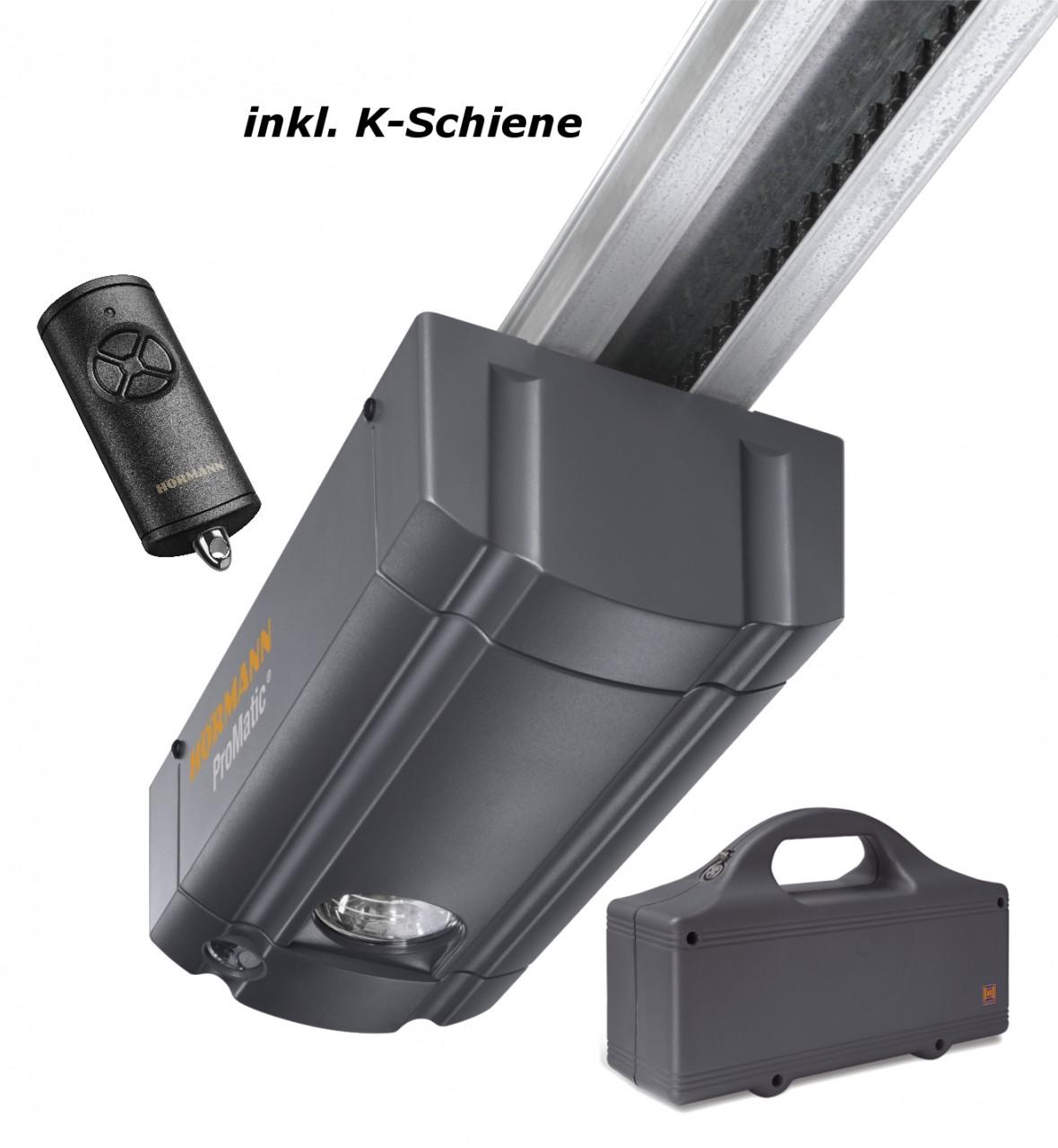 Hörmann ProMatic Akku mit K-Schiene