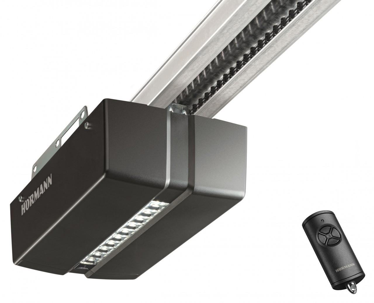 Hörmann ProMatic 4 Garage Door Opener with K-Rails