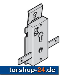 Hörmann Schloss mit Profil-Halbzylinder Nachtverriegelung