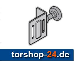 Hörmann Rollenhalter oben mit Laufrolle Beschlag L
