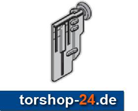 Hörmann Rollenhalter oben mit Laufrolle links Beschlag Z