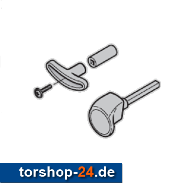 Hörmann Torgriffgarnitur Stiftlänge 113 mm