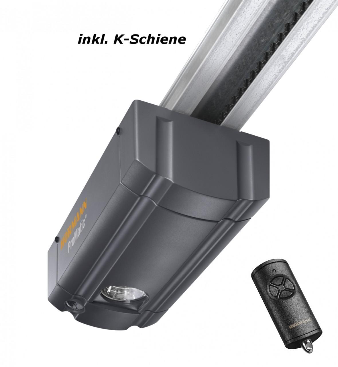 Hörmann ProMatic Garagentorantrieb mit K-Schiene