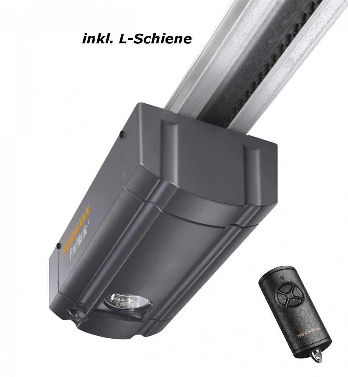 Hörmann ProMatic Garagentorantrieb mit L-Schiene