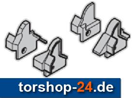 Hörmann Set: Fingerschutzkappen Schlupfttür DIN links