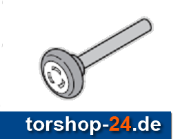 Hörmann Laufrolle 110 mm Achse