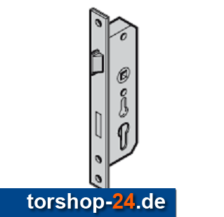 Hörmann Schloss für Profilzylinder Schluptür DIN rechts 3-Punkt
