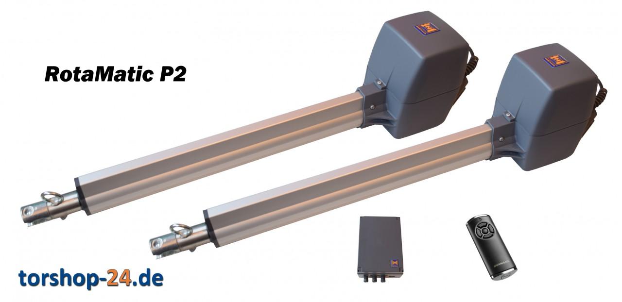 Hörmann Drehtorantrieb RotaMatic P 2 BiSecur Serie 3