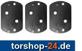 Hörmann Unterlegplatten-Set für Drehtorantrieb